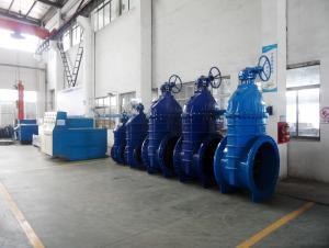 CNBM Ductile iron BS5163 gate valve 12''