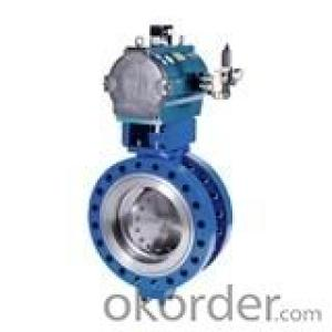 butterfly valve Triple-eccentric design