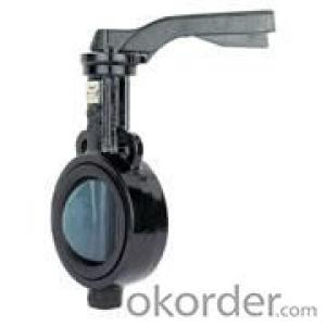 butterfly valve working temperature:≤80oC