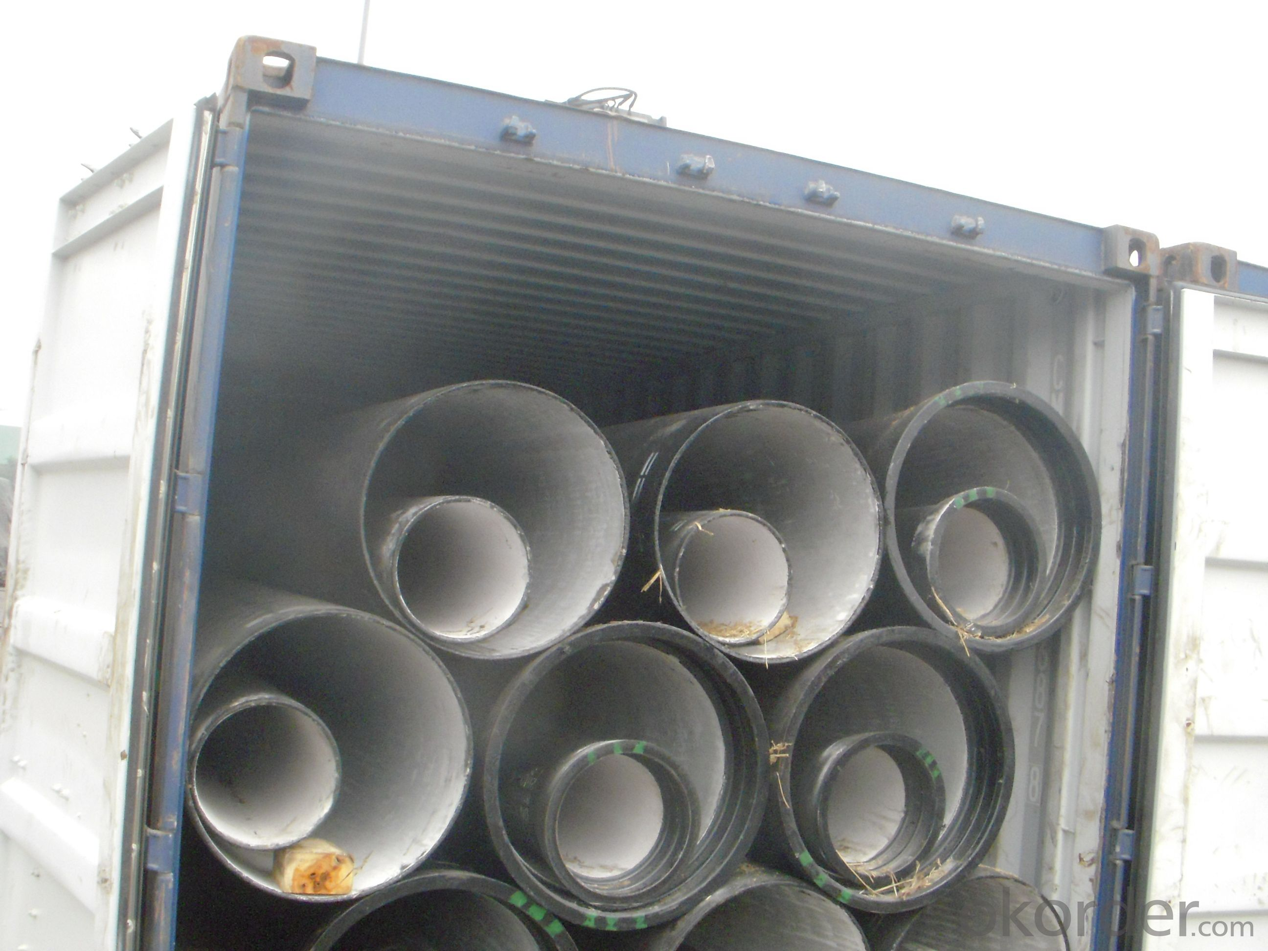DUCTILE IRON PIPES K9 DN100
