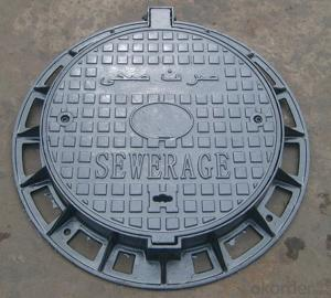 Manhole Cover Fonte Ductile Iron C250 Made in China