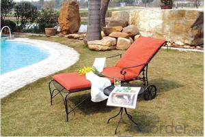 Aluminum Metal Outdoor Daybed