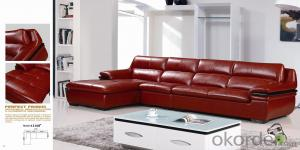 Leather sofa model-16