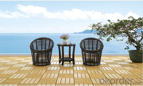 Patio Rattan Table Chair Set