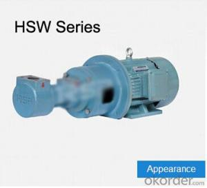 HSW Series Three-screw Pump