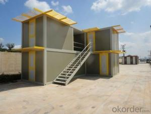 High quality decorated movable container house