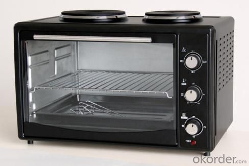 Electric Oven Rotisserie and Convection function