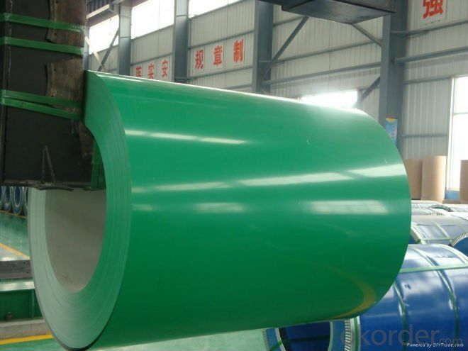 Prepainted Steel Coil in High Quality Green Color