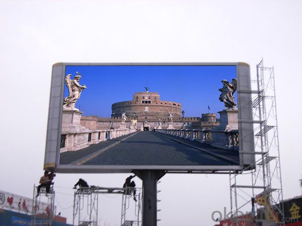 P8 Outdoor LED Display screen Superb Brightness CMAX-P8