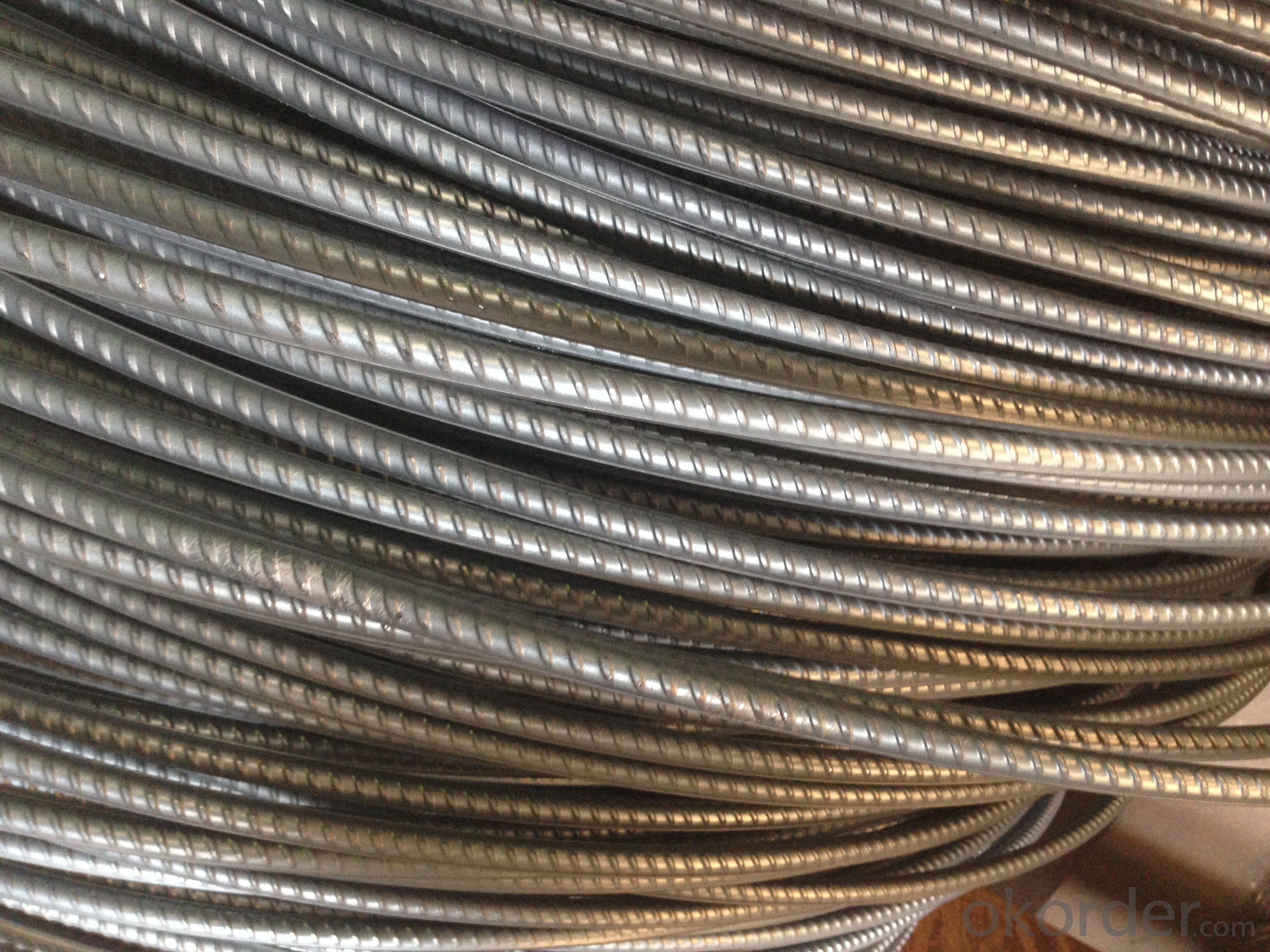 reinforcing bar steel rebars in bundles construction building material