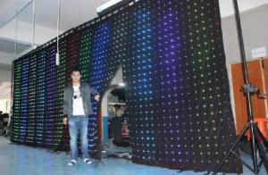 Portable White LED Stage Backdrop Decoration CMAX-C4