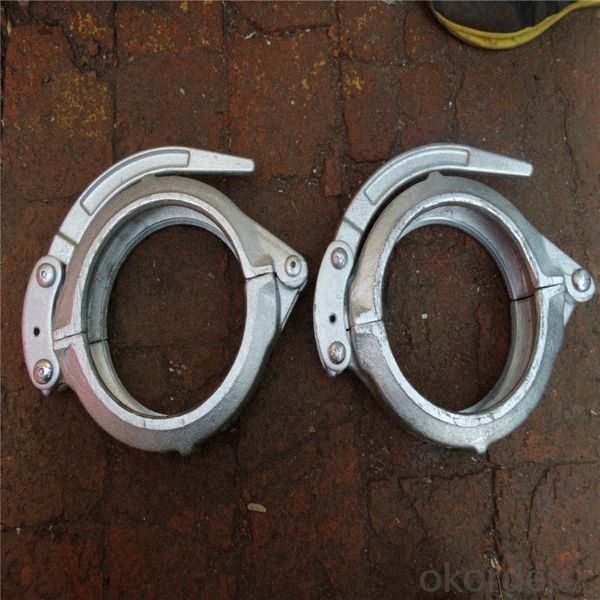 Buy Concrete Pump Pipe Parts 6Inch Snap Coupling Price,Size,Weight