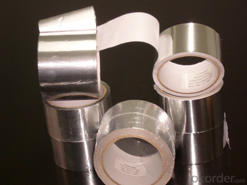 Aluminum Foil Tape, Lightweight, High Resistance and Non-stretchable