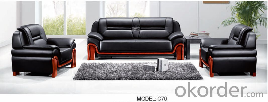 Luxury Modern Sectional  Leather/PU Office Sofa/Chair CN70