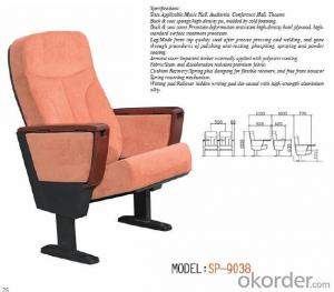 Cinema Chair/Theatre Chair/Auditorium Chairs With Table Pad 9038