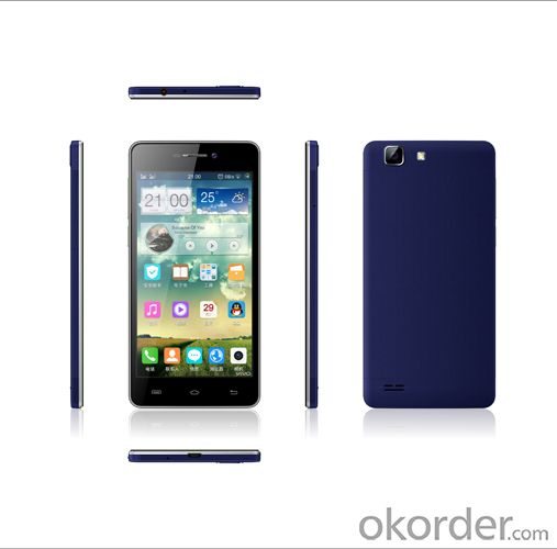 Quad Core Mtk6582m 5 Inch Android 4.4 Smart Phone