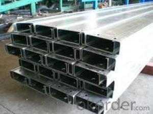 Galvanized C Shape Steel with Good Quality