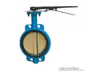 ALLOY STEEL BUTTERFLY VALVE DN25-DN1200 BG290