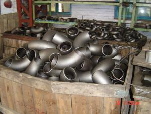 STAINLESS STEEL PIPE BUTT WELDED 90D ELBOW LR 304/316 ANSI B16.9