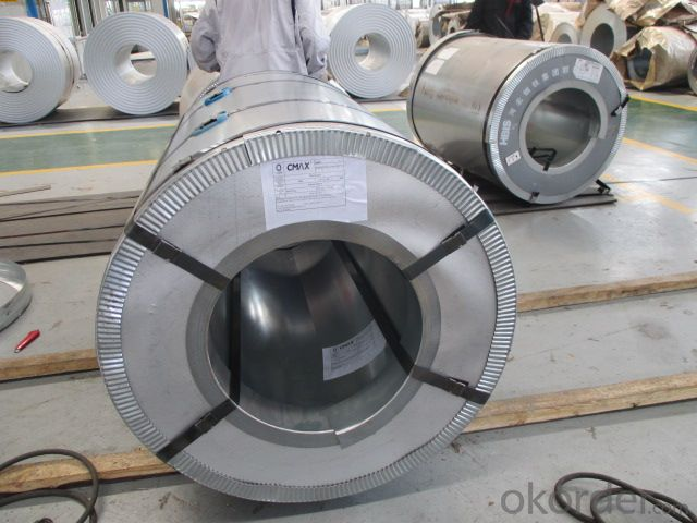 STAINLESS STEEL COILS  Mill Edge. No connection point in each coil.