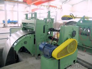 CUT-LENGTH SLITTING MACHINE FOR BUILDING