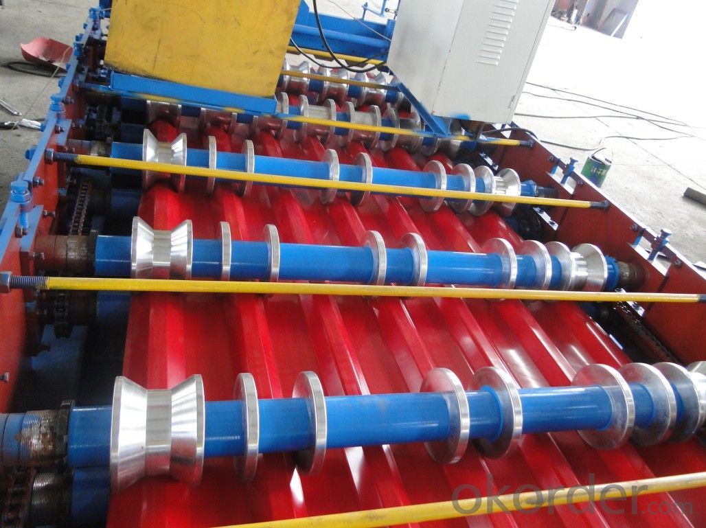 T-SHAPE CORRUGATED MACHINE FOR BUILDING CONSTRUCTION