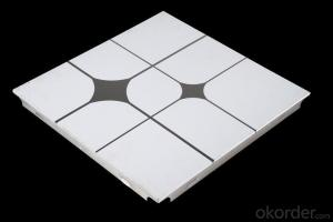 Aluminum Square Ceiling   Tiles  For Decoration