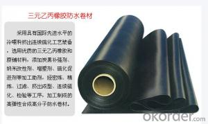 A Grade Quality EPDM Waterproofing Membrane for Roof Use