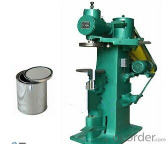Semi-automatic Seamer Sealing Machine For Round Tin Can Box Making Machines Specifications