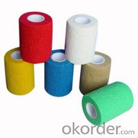 Colored medical adhesive tape made in china