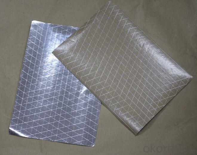 insulation flexible ducts bubble foil AL+LDPE mylar film for heat seal AL+PET