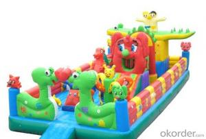 Children Favorite Dolphin Combo Bouncers and Water Slides
