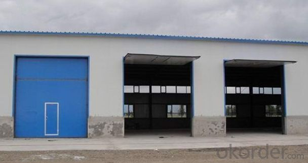 Chinese insulated sectional factory door