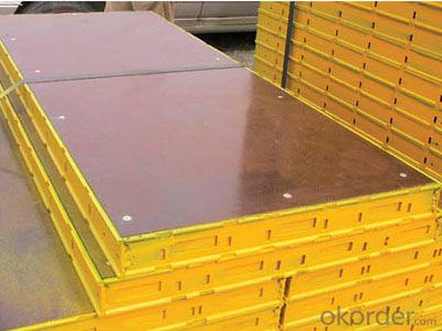 Steel Fram Formworks Used for Building Construction