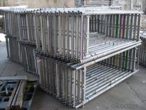 Whole Aluminum-Frame Formworks for Building Materials