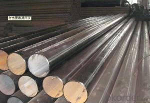 Hot Rolled Steel Round Bar For Pipes Produce