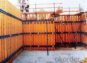 Timber Beam Formwork  for Building Construction and Other Use