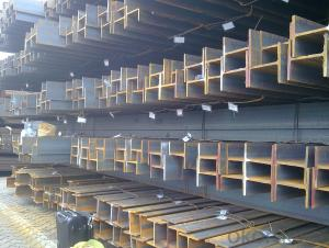 JIS Standard Hot Rolled Steel H Beams of Material SS400