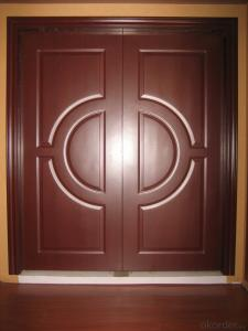 Wooden Interior Composite Door for Decoration