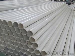 PVC Pipe   15- 20 days   Specification: 16-630mm Length: 5.8/11.8M Standard: GB