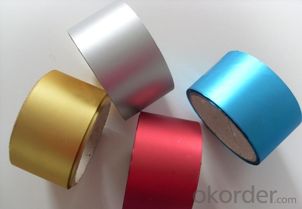 Color Aluminum Foil  with Polyester Film