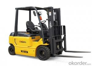 High quality 3.5 ton electric forklift truck KEF35