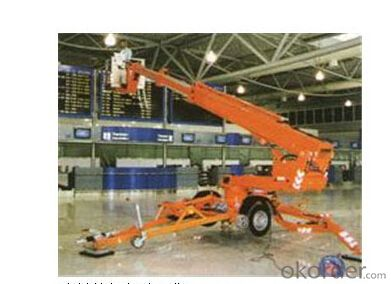 PRODUCT NAME:Trail-type aerial working platform PTT150