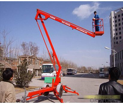 PRODUCT NAME:Trail-type aerial working platform PTS120