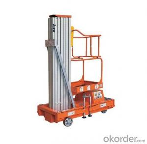 PRODUCT NAME:Mobile Aluminium Work Platform(single mast)
