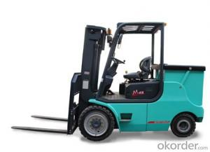 3.5T-5.0T Four-pivot Battery Forklift-CPD35-50