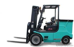 1.0T-1.8T Four-pivot Battery Forklift-CPD10-18