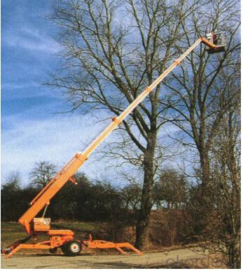 PRODUCT NAME:Trail-type aerial working platform PTT250