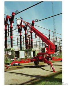 PRODUCT NAME:Trail-type aerial working platform PTT220