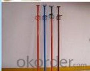 Single handle building steel scaffolding props support